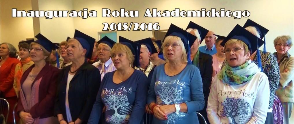 """Inauguracja roku akademickiego 2015/16 SUTW """"Tęcza"""" w Trzebnicy"""