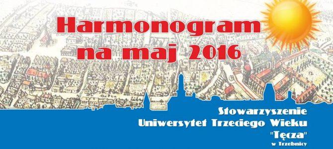 Harmonogram zajęć SUTW na maj 2016