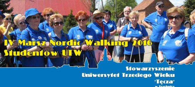 7 maja 2016 r. – IV Marsz Nordic Walking 2016 Studentów UTW